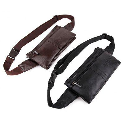 338 Men Soft Genuine Leather Camping Waist BagWaist Packs<br>338 Men Soft Genuine Leather Camping Waist Bag<br><br>Features: Moistureproof<br>Gender: Men<br>Package Size(L x W x H): 25.00 x 20.00 x 5.00 cm / 9.84 x 7.87 x 1.97 inches<br>Package weight: 0.3700 kg<br>Packing List: 1 x Waist Bag<br>Product weight: 0.3000 kg<br>Style: Casual, Fashion<br>Type: Waist Bag