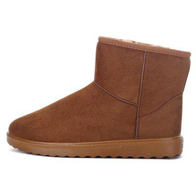 Buy Men Fashionable Warm High Boots, LIGHT BROWN, 44, Bags & Shoes, Men's Shoes, Men's Boots for $16.65 in GearBest store