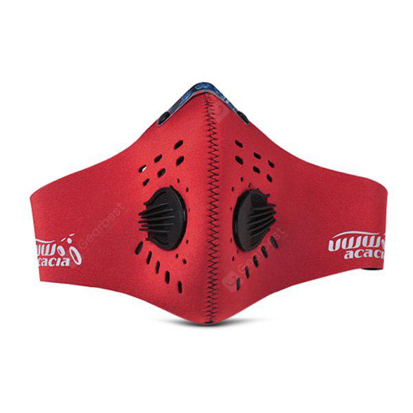 RED L acacia Anti-haze PM2.5 Breathable Cycling Protective Mask