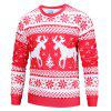 Mr 1991 INC Miss Go 3D Printing Christmas Sweatshirt - RED