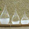 Creative Storm Glass Water Drop Weather Forecast Bottle - TRANSPARENT