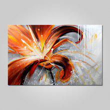 YHHP Modern Flower Canvas Home Decoration Oil Painting