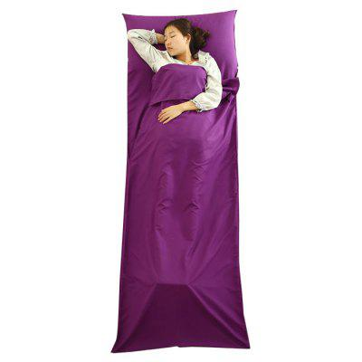 EVEVEME Portable Double Liner Polyester Sleeping Bag