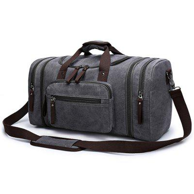 Buy GRAY Kabden Travel Sling Bag Handbag Outdoor Canvas 35L Pouch for $27.38 in GearBest store