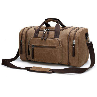 Buy KHAKI Kabden Travel Sling Bag Handbag Outdoor Canvas 35L Pouch for $27.38 in GearBest store