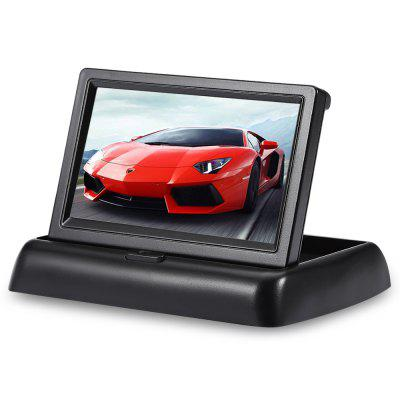 NX - 43ZD 4.3 inch Foldable Car Rear View Monitor