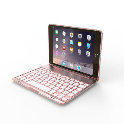 F8 Bluetooth Keyboard Case Backlit for iPad Mini 4