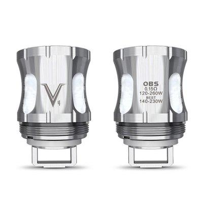 OBS V4 0.15 ohm Coil Head for V Tank ( 3pcs / Pack )
