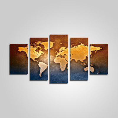 Buy COLORMIX God Painting Modern Style World Map Decor Painting for $16.41 in GearBest store