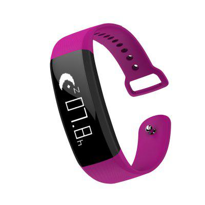 M89 Heart Rate SmartbandSmart Watches<br>M89 Heart Rate Smartband<br><br>Alert type: Vibration<br>Band material: TPU<br>Band size: 22 x 1.5 cm<br>Battery  Capacity: 90mAh<br>Bluetooth calling: Callers name display<br>Bluetooth Version: Bluetooth 4.0<br>Built-in chip type: NRF51822<br>Case material: ABS<br>Charging Time: About 2hours<br>Compatability: Android 4.3 or above and iOS 8.0 or above<br>Compatible OS: Android, IOS<br>Dial size: 5 x 1.5 x 0.8 cm<br>Find phone: Yes<br>Health tracker: Heart rate monitor,Pedometer,Sedentary reminder,Sleep monitor<br>IP rating: IP67<br>Language: English,French,German,Italian,Japanese,Korean,Portuguese (Brazil),Russian,Simplified Chinese,Spanish,Traditional Chinese,Vietnamese<br>Messaging: Message reminder<br>Notification: Yes<br>Notification type: WhatsApp, Wechat, Twitter, Skype, Instagram, Facebook<br>Operating mode: Touch Key<br>Other Function: Alarm, GPS<br>Package Contents: 1 x Smartband, 1 x English-Chinese Manual, 1 x USB Cable<br>Package size (L x W x H): 13.50 x 10.00 x 3.00 cm / 5.31 x 3.94 x 1.18 inches<br>Package weight: 0.0940 kg<br>People: Female table,Male table<br>Product size (L x W x H): 22.00 x 1.50 x 0.80 cm / 8.66 x 0.59 x 0.31 inches<br>Product weight: 0.0210 kg<br>Remote control function: Remote Camera<br>Screen: OLED<br>Screen size: 0.86 inch<br>Shape of the dial: Rectangle<br>Standby time: 7 - 10 days<br>Waterproof: Yes