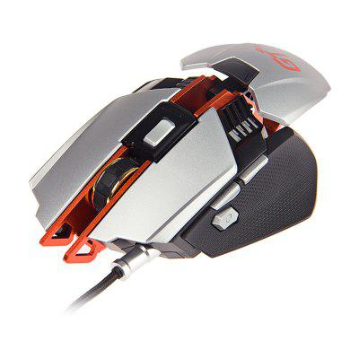 Ajazz GTX LOL Metal Gaming Mouse Colorful Breathing LightMouse<br>Ajazz GTX LOL Metal Gaming Mouse Colorful Breathing Light<br><br>Brand: Ajazz<br>Cable Length (m): 1.6m<br>Coding Supported: Yes<br>Connection: Wired<br>Connection Type: USB Wired<br>DPI Adjustment: Support<br>Features: Gaming<br>Interface: USB 2.0<br>Material: Aluminum Alloy<br>Model: GTX<br>Mouse Macro Express Supported: Yes<br>Package Contents: 1 x Ajazz GTX Gaming Mouse, 1 x English Manual<br>Package size (L x W x H): 22.00 x 16.50 x 5.80 cm / 8.66 x 6.5 x 2.28 inches<br>Package weight: 0.3000 kg<br>Power Supply: USB Port<br>Product size (L x W x H): 12.90 x 8.60 x 3.80 cm / 5.08 x 3.39 x 1.5 inches<br>Product weight: 0.1500 kg<br>Resolution: 1000DPI,2000DPI,3000DPI,4000LPI<br>Type: Mouse