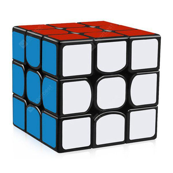 YJ Guanlong Speed Third-order Magic Cube Toy - COLORMIX STYLE 2