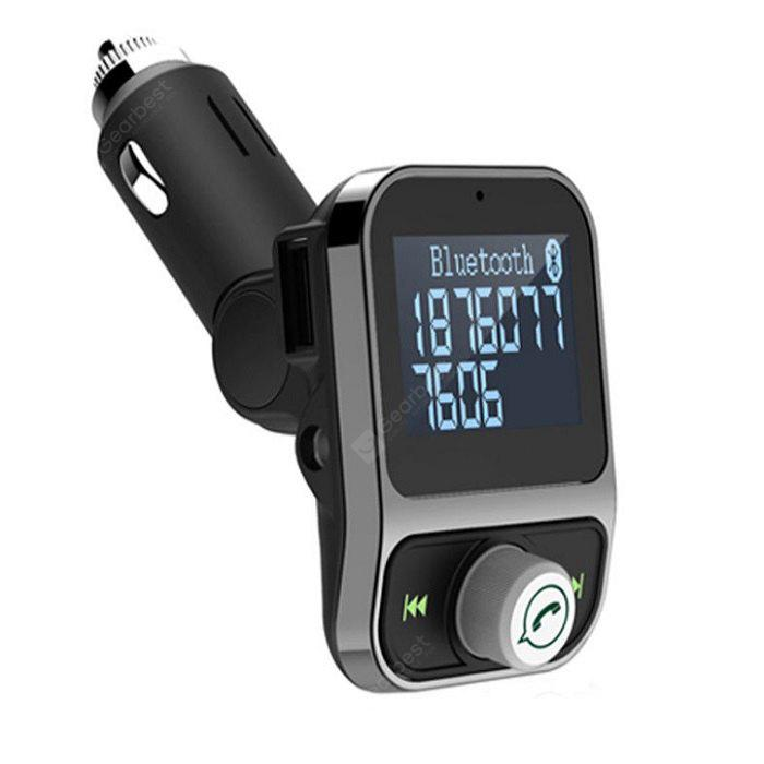 KELIMA HY88 4 in 1 Bluetooth FM Transmitter with Screen