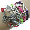 Musik Muster Eule Fox acht Muster Armband - COLORMIX