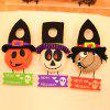 MCYH LG613 Decorations Pumpkin Witch Doll Door Hanger 1PC - COLORMIX