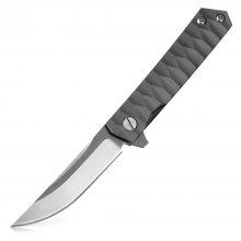 FURA Water Ripples Folding Knife with Frame Lock
