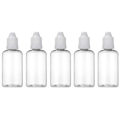 50ml PET Transparent E-liquid Bottle 5pcs