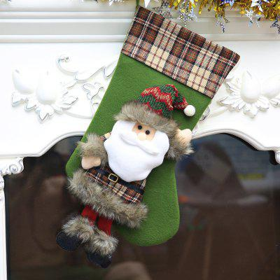 MCYH Christmas Sugar Container Home Decorative Stocking