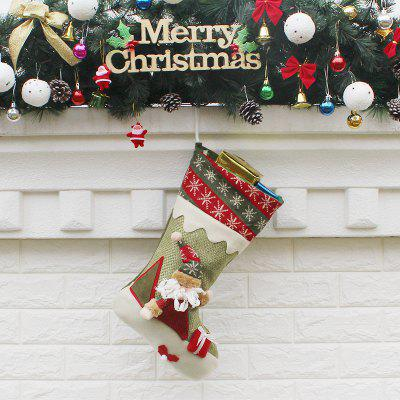 MCYH Christmas Adorable Long Sock Decorative Stocking