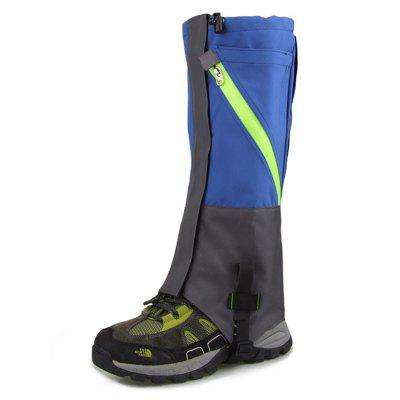 Pair of Double-layer Waterproof Snow Foot Covers