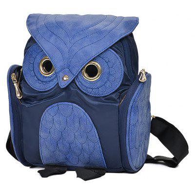 Woman Personality Owl Shape Design Backpack