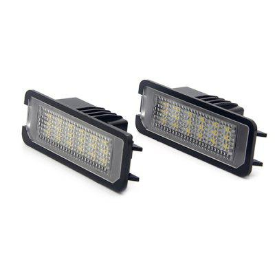 Auto Dragons ADT - LPL - VW - G4 Car LED License Plate Light Lamp - 2pcsCar Lights<br>Auto Dragons ADT - LPL - VW - G4 Car LED License Plate Light Lamp - 2pcs<br><br>Apply lamp position: External Lights<br>Apply To Car Brand: Volkswagen<br>Brand: autodragons<br>Color temperatures: 6000K<br>Connector: Cable Connector<br>Emitting color: White<br>LED Type: SMD 3528<br>LED/Bulb quantity: 18 x Bulb<br>Lumens: 126lm<br>Material: Plastic<br>Package Contents: 2 x LED License Plate Lamp<br>Package size (L x W x H): 11.00 x 6.30 x 4.60 cm / 4.33 x 2.48 x 1.81 inches<br>Package weight: 0.1200 kg<br>Power: 3W<br>Product size (L x W x H): 7.70 x 2.80 x 2.50 cm / 3.03 x 1.1 x 0.98 inches<br>Product weight: 0.0800 kg<br>Type: License Plate Lights<br>Type of lamp-house: LED<br>Voltage: 12V