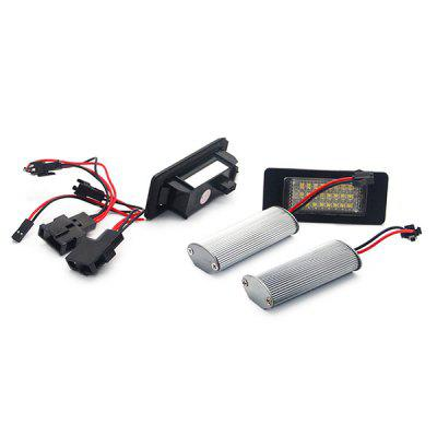 Auto Dragons ADT - LPL - AUDI - Q5 - N Car LED License Plate Light Lamp - 2pcsCar Lights<br>Auto Dragons ADT - LPL - AUDI - Q5 - N Car LED License Plate Light Lamp - 2pcs<br><br>Apply lamp position: External Lights<br>Apply To Car Brand: Audi<br>Brand: autodragons<br>Color temperatures: 6500K<br>Connector: Cable Connector<br>Emitting color: White<br>Feature: Easy to use, Waterproof/Dustproof, Durable high performance<br>LED Type: SMD 3528<br>LED/Bulb quantity: 24<br>Lumens: 168lm<br>Material: Plastic<br>Package Contents: 2 x LED License Plate Light<br>Package size (L x W x H): 7.30 x 3.00 x 3.20 cm / 2.87 x 1.18 x 1.26 inches<br>Package weight: 0.1200 kg<br>Power: 3W<br>Product size (L x W x H): 8.00 x 3.00 x 2.50 cm / 3.15 x 1.18 x 0.98 inches<br>Product weight: 0.0800 kg<br>Type: License Plate Lights<br>Type of lamp-house: LED<br>Voltage: 12V