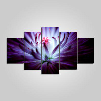 Buy COLORMIX YSDAFEN ny 125 Beautiful Flowers Canvas Print 5PCS for $55.37 in GearBest store