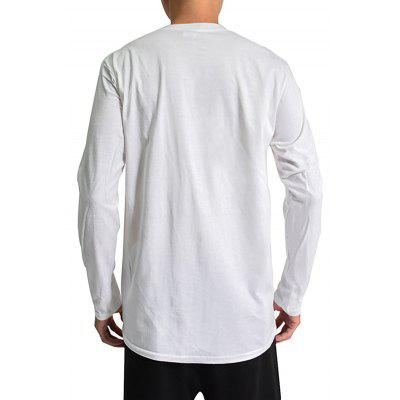 Mr 1991 INC Miss GO Men 3D Ghost Emissary Print T-shirtMens Long Sleeves Tees<br>Mr 1991 INC Miss GO Men 3D Ghost Emissary Print T-shirt<br><br>Brand: Mr.1991INC&amp;Miss.Go<br>Material: Cotton<br>Neckline: Round Neck<br>Package Content: 1 x T-shirt<br>Package size: 38.00 x 30.00 x 2.00 cm / 14.96 x 11.81 x 0.79 inches<br>Package weight: 0.2500 kg<br>Product weight: 0.2300 kg<br>Season: Autumn, Spring<br>Sleeve Length: Long Sleeves
