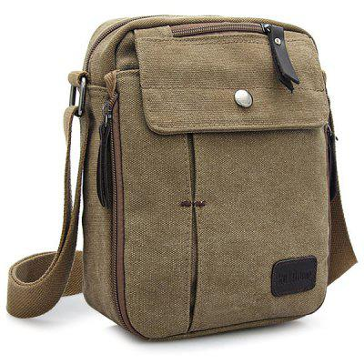EVEVEME Multifunctional Canvas Sling Bag