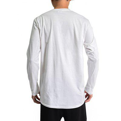 Mr.1991INC Miss.Go Male Creative Character Printing T-ShirtMens Long Sleeves Tees<br>Mr.1991INC Miss.Go Male Creative Character Printing T-Shirt<br><br>Brand: Mr.1991INC&amp;Miss.Go<br>Neckline: Round Collar<br>Package Content: 1 x T-shirt<br>Package size: 38.00 x 30.00 x 2.00 cm / 14.96 x 11.81 x 0.79 inches<br>Package weight: 0.2500 kg<br>Product weight: 0.2300 kg<br>Season: Autumn, Winter<br>Sleeve Length: Long Sleeves