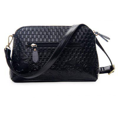Women Fashion Woven Flower PU Shoulder BagCrossbody Bags<br>Women Fashion Woven Flower PU Shoulder Bag<br><br>Features: Wearable<br>Gender: Women<br>Material: PU<br>Package Size(L x W x H): 29.00 x 18.00 x 5.00 cm / 11.42 x 7.09 x 1.97 inches<br>Package weight: 0.5800 kg<br>Packing List: 1 x Shoulder Bag<br>Product weight: 0.5600 kg<br>Style: Casual, Fashion<br>Type: Shoulder bag