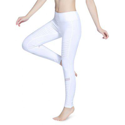 Breathable Mesh Joint Yoga Pants for Women
