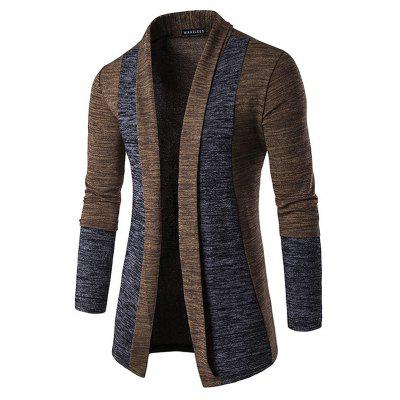 Fashion Splicing Cardigan