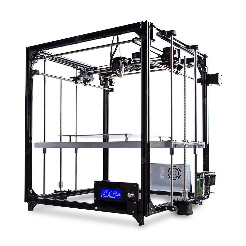 Image result for FLSUN FL - C Cube Simple Equipped Frame 3D Printer Kit