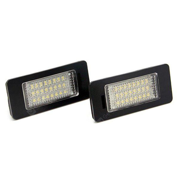 Auto Dragons ADT - LPL - AUDI - Q5 - N Car LED License Plate Light Lamp - 2pcs