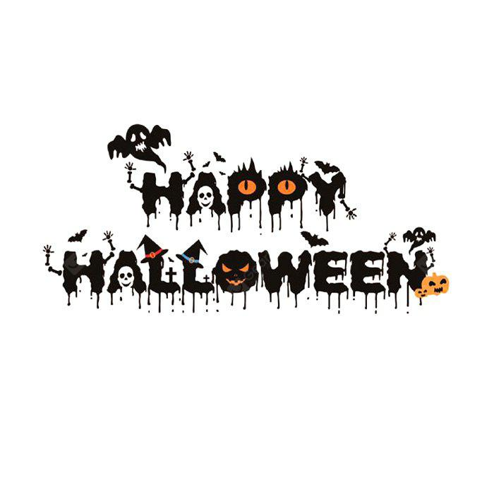 640 Halloween Crows and Ghosts Wall Sticker