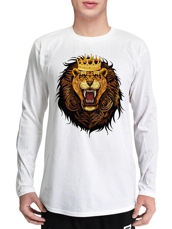 Mr.1991INC Miss.Go Cool Lion Printing T-Shirt for Men