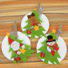 MCYH Christmas Home Decorative Knife Fork Set Cover 3pcs - GREEN