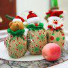 MCYH Christmas Creative Kids Gifts Storage Bag 3pcs - MULTI