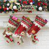 MCYH Christmas Adorable Long Sock Decorative Stocking - COLORMIX