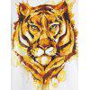 Mr.1991INC Miss.GO Creative Tiger Printing T-Shirt for Men - WHITE