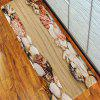 Shell Beach Floor Rug Mat Flannel Carpet - EARTHY