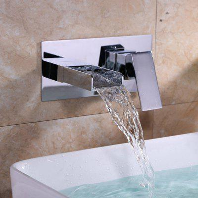 MLFALLS M1357CWI Waterfall Wall-mount Basin FaucetFaucets<br>MLFALLS M1357CWI Waterfall Wall-mount Basin Faucet<br><br>Battery Included: No<br>Body Sprays Included: No<br>Brand: MLFALLS<br>Cold and Hot Switch: Yes<br>Drain Included: No<br>Faucet Body Material: Brass<br>Faucet center: Single Hole<br>Faucet Features: Easy to use<br>Faucet Spout Material: Stainless Steel<br>Faucet Type: Bathroom Sink Faucet<br>Handle Material: Zinc Alloy<br>Handshower Included: No<br>Handshower Material: Brass<br>Home Finish: Chrome<br>Installation Holes Handles: Single Handle Two Holes<br>Installation Type: Widespread<br>Package Contents: 1 x Pack of Installation Fittings, 1 x English Manual<br>Package size (L x W x H): 30.00 x 18.00 x 14.00 cm / 11.81 x 7.09 x 5.51 inches<br>Package weight: 2.5000 kg<br>Product size (L x W x H): 13.50 x 6.00 x 2.80 cm / 5.31 x 2.36 x 1.1 inches<br>Product weight: 2.2000 kg<br>Rain Shower Included: No<br>Rain Shower Material: Brass<br>Shower Arm Included: No<br>Style: Contemporary<br>Valve Included: Yes<br>Valve Type: Ceramic Valve