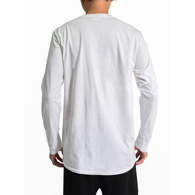Mr.1991INC Miss.GO Simple Parrot Printing T-shirt for MenMens Long Sleeves Tees<br>Mr.1991INC Miss.GO Simple Parrot Printing T-shirt for Men<br><br>Brand: Mr.1991INC&amp;Miss.Go<br>Neckline: Round Collar<br>Package Content: 1 x T-shirt<br>Package size: 38.00 x 30.00 x 2.00 cm / 14.96 x 11.81 x 0.79 inches<br>Package weight: 0.2500 kg<br>Product weight: 0.2300 kg<br>Season: Autumn, Winter<br>Sleeve Length: Long Sleeves<br>Style: Casual