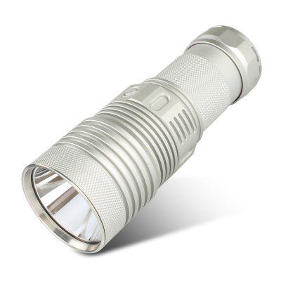 HaikeLite MT07S 4800K Flashlight Silver