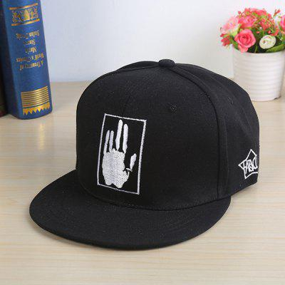 Unisex Street Hip-hop Palm Bordados Sports Sun Cap