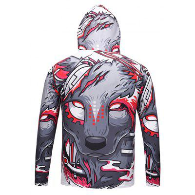Mr.1991INC Miss.GO Male 3D Animal Printing Hooded T-shirtMens Long Sleeves Tees<br>Mr.1991INC Miss.GO Male 3D Animal Printing Hooded T-shirt<br><br>Brand: Mr.1991INC&amp;Miss.Go<br>Neckline: Hooded<br>Package Content: 1 x T-shirt<br>Package size: 38.00 x 30.00 x 2.00 cm / 14.96 x 11.81 x 0.79 inches<br>Package weight: 0.3200 kg<br>Pattern Type: Animal<br>Product weight: 0.3000 kg<br>Season: Autumn, Winter<br>Sleeve Length: Long Sleeves