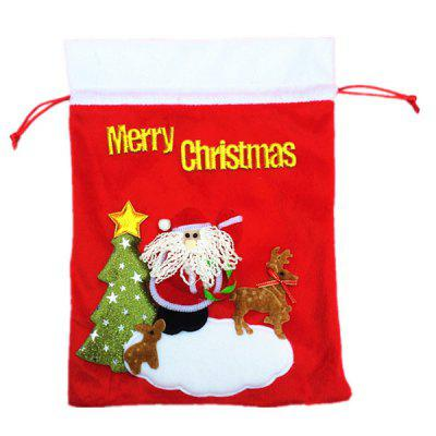 Santa Claus Style Gifts Storage BagChristmas Supplies<br>Santa Claus Style Gifts Storage Bag<br><br>Package Contents: 1 x Gifts Storage Bag<br>Package size (L x W x H): 20.00 x 20.00 x 1.50 cm / 7.87 x 7.87 x 0.59 inches<br>Package weight: 0.1500 kg<br>Product size (L x W x H): 33.00 x 25.00 x 0.50 cm / 12.99 x 9.84 x 0.2 inches<br>Product weight: 0.1200 kg<br>Usage: Christmas