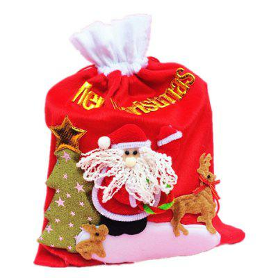 Santa Claus Style Gifts Storage Bag